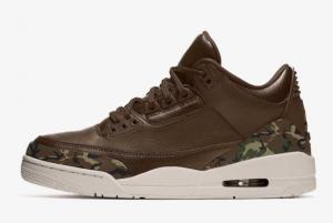 2021 Air Jordan 3 Camo Shoes For Men