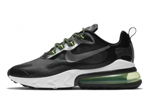 2021 Cheap 3M x Nike Air Max 270 React Black Reflective Silver CT1647-001