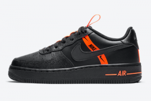 2021 Latest Nike Air Force 1 LV8 KSA Halloween CT4683-001