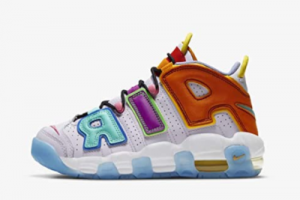 2021 Latest Nike Air More Uptempo Multi-Color DH0624-500 Online Sale