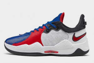 2021 Latest Nike PG 5 Clippers On Sale CW3143-101