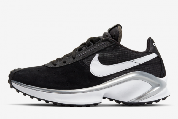 2021 Latest Release Nike D/MS/X Waffle Black Silver CQ0205-001