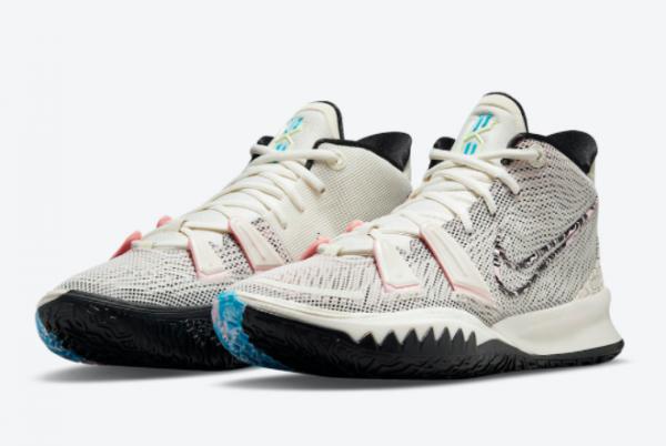 2021 Latest Release Nike Kyrie 7 Pale Ivory CZ0141-100-2
