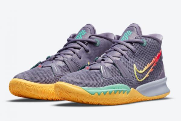 2021 New Nike Kyrie 7 Daybreak CT4080-500 For Women-2