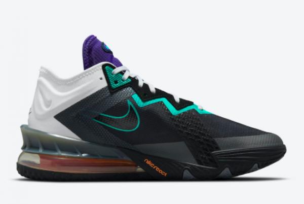 2021 New Nike LeBron 18 Low Greedy Men's Shoe CV7564-100-1