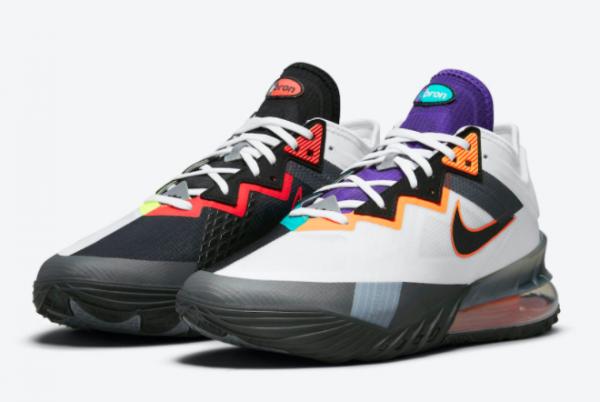 2021 New Nike LeBron 18 Low Greedy Men's Shoe CV7564-100-2