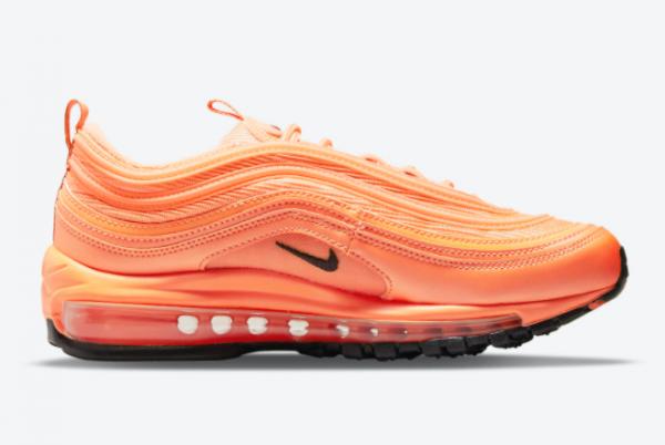 2021 New Release Nike Air Max 97 Orange/Black DM8338-800-1