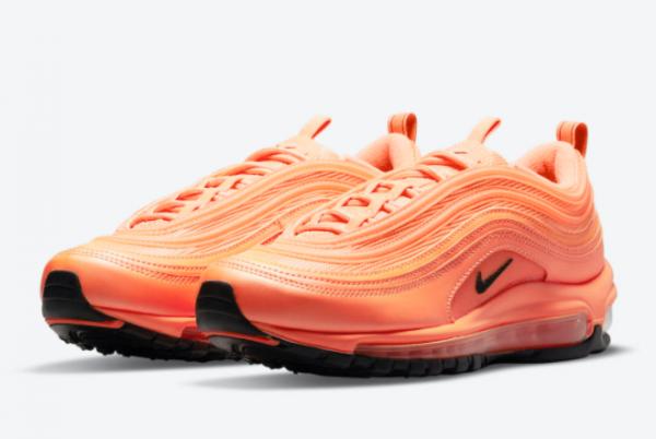 2021 New Release Nike Air Max 97 Orange/Black DM8338-800-2