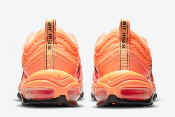 2021 New Release Nike Air Max 97 Orange/Black DM8338-800-3
