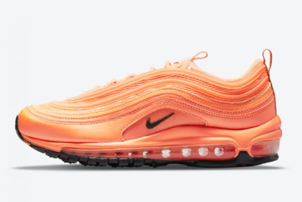2021 New Release Nike Air Max 97 Orange/Black DM8338-800
