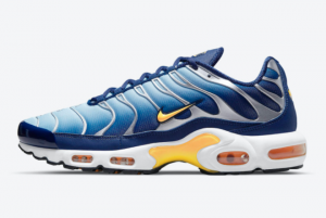 2021 New Release Nike Air Max Plus Sky Blue/Laser Orange DM3530-400