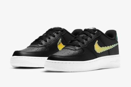 2021 Nike Air Force 1 LV8 Black/Multi Color CW1577-002 Lifestyle Shoes-1