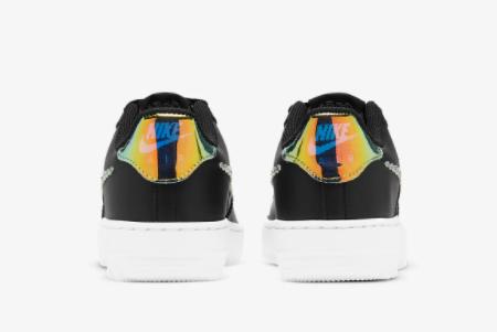 2021 Nike Air Force 1 LV8 Black/Multi Color CW1577-002 Lifestyle Shoes-2