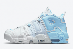 2021 Nike Air More Uptempo Sky Blue Sneakers For Sale DJ5159-400
