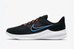 2021 Nike Downshifter 11 Black/Total Orange/Dark Smoke Grey/Coast CW3411-001