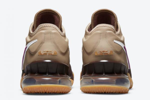 2021 Nike LeBron 18 Low Viotech CW5635-200 Sneakers On Sale-3