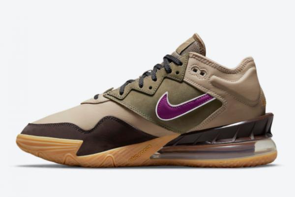 2021 Nike LeBron 18 Low Viotech CW5635-200 Sneakers On Sale