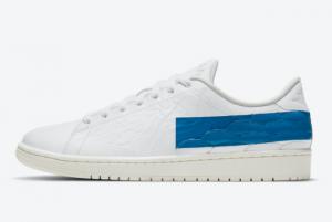 Air Jordan 1 Centre Court Military Blue Basketball Sneakers For Sale DJ2756-103