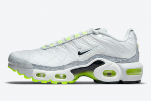 Brand New Nike Air Max Plus GS White Grey Volt CD0609-015 On Sale