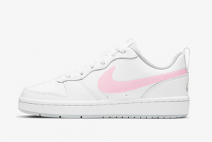 Brand New Nike Court Borough Low 2 Mwh GS White/Arctic Punch DD3023-100