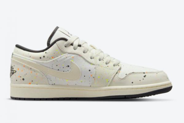 Discount Air Jordan 1 Low Paint Splatter DM3528-100 Sneakers-1