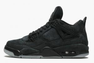 New Arrival KAWS x Air Jordan 4 Retro Black Men's Sneakers 930155-001