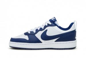 Discount Nike Court Borough Low White/Blue Void-Signal Blue BQ5448-107
