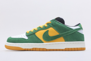 Discount Nike Dunk SB Green Yellow White 804292-132