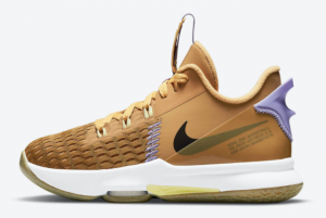 Discount Nike LeBron Witness 5 GS Wheat CT4629-700