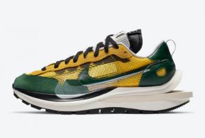 Discount Sacai x Nike VaporWaffle Tour Yellow CV1363-700
