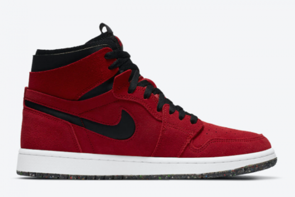 Fashion Air Jordan 1 High Zoom Comfort Red Suede CT0978-600 Shoes-1