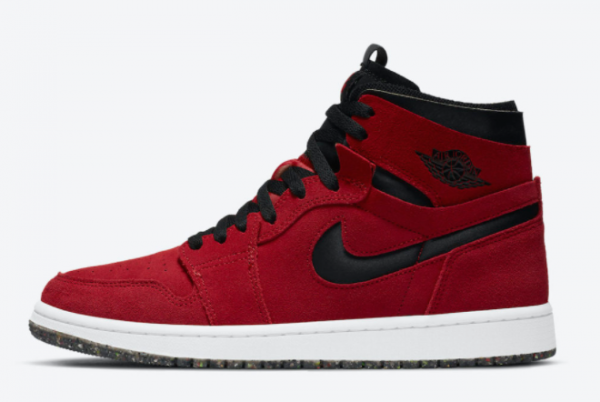Fashion Air Jordan 1 High Zoom Comfort Red Suede CT0978-600 Shoes