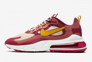 Latest Release Nike Air Max 270 React Wine Red/Gold AO4971-601