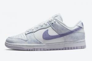 Latest Release Nike Dunk Low Purple Pulse White DM9467-500