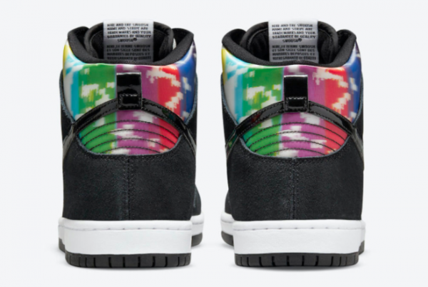 Latest Release Nike SB Dunk High TV Signal CZ2253-100-3