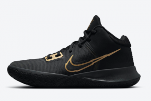 Men's Nike Kyrie Flytrap 4 Black Gold CT1972-005 New Released