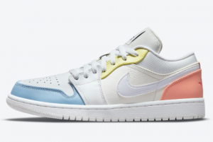 New Air Jordan 1 Low To My First Coach DJ6909-100 Sneakers On Sale