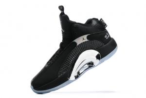 New Air Jordan 35 Black/Metallic Silver 2021