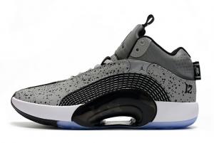 New Air Jordan 35 Cement Grey/Black-White For Sale