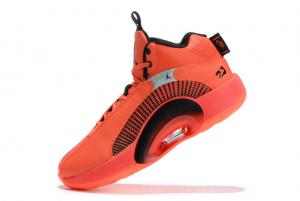 New Air Jordan 35 Orange/Black 2021