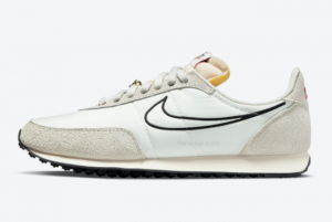 New Arrival Nike Waffle Trainer 2 Natural Black DH4390-100 For Sale