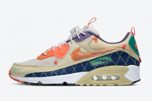 New Nike Air Max 90 Trail Team Gold CZ9078-784 Released