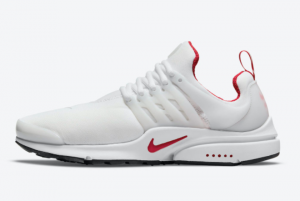 New Nike Air Presto White Red DM8678-100 Sale