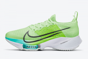New Nike Air Zoom Tempo NEXT% Neon/Volt-Turquoise CI9924-700