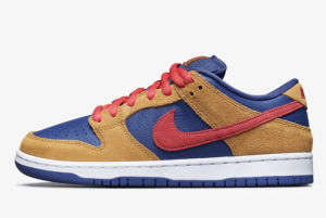 New Nike SB Dunk Low Wheat/Dark Purple BQ6817-700 Lifestyle Shoes
