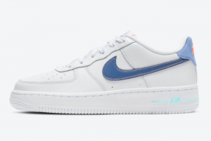 New Free Nike Air Force 1 Low GS White/Light Thistle-Copa-Dark Purple Dust DC8188-100