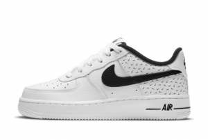 Nike Air Force 1 07 Swooshfetti White/Black DC9189-100 Cheap For Sale