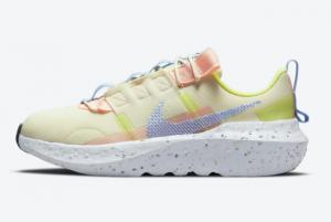Nike Crater Impact Pink/Aqua Blue-Volt CW2386-700 Cheap Price