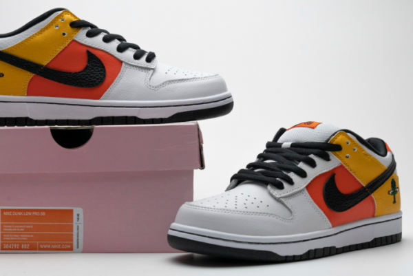 Nike Dunk SB Low Raygun Home Sneakers For Sale 304292-802-2