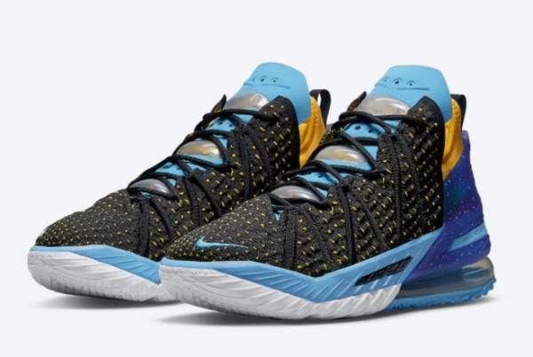 Nike LeBron 18 Minneapolis Lakers CQ9283-006 Sneakers For Sale-2